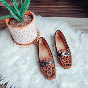 Naturalizer leather loafers 🐆